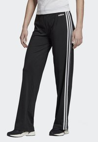adidas Performance - DESIGNED 2 MOVE 3-STRIPES JOGGERS - Tracksuit bottoms - black - 0