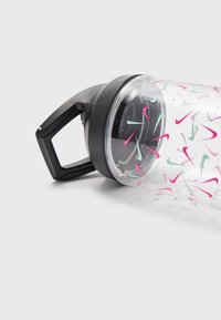 Nike Performance - HYPERCHARGE CHUG BOTTLE UNISEX - Drink bottle - clear/black/tropical twist - 3