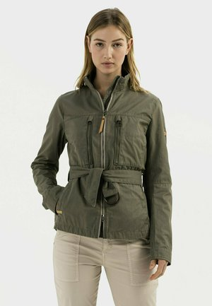 MIT TAILLENGÜRTEL - Light jacket - light khaki