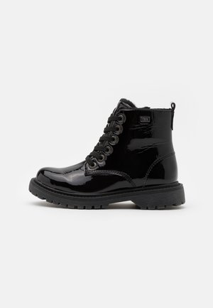 XENIA-TEX - Bottines à lacets - black