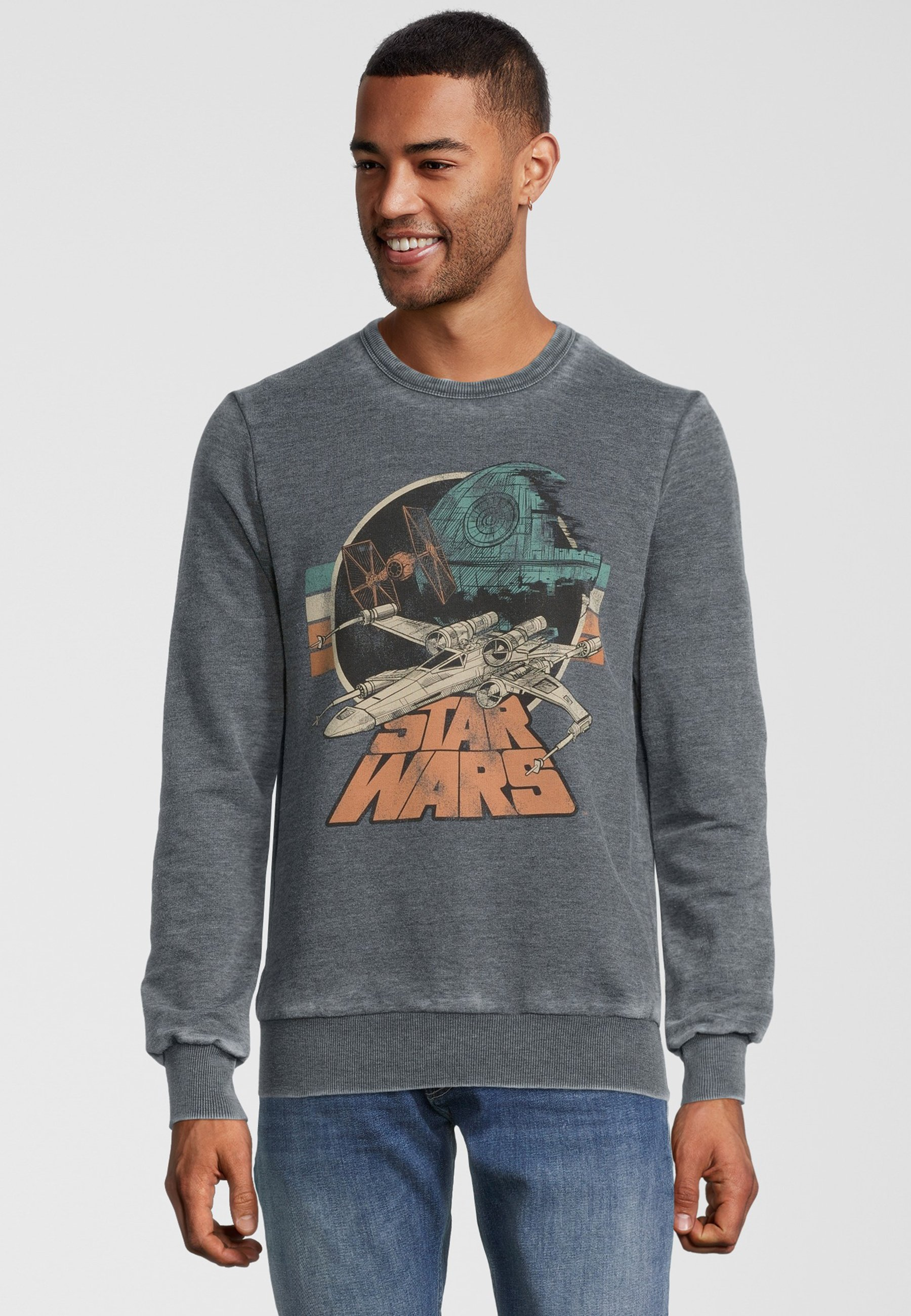 Homme STAR WARS EMPIRE STRIKES BACK RETRO X-WING - Sweatshirt