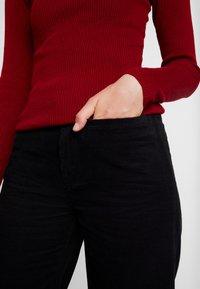 Neuw - MAGAZINE PANT - Trousers - black - 3