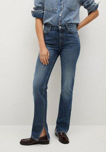 DROIT OUVERTURE - Straight leg jeans - bleu foncé
