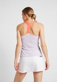 adidas Performance - TANK - Camiseta de deporte - purple - 2