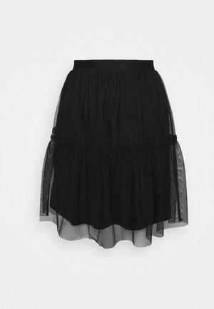 VIVERANDAHW SKIRT - Jupe trapèze - black