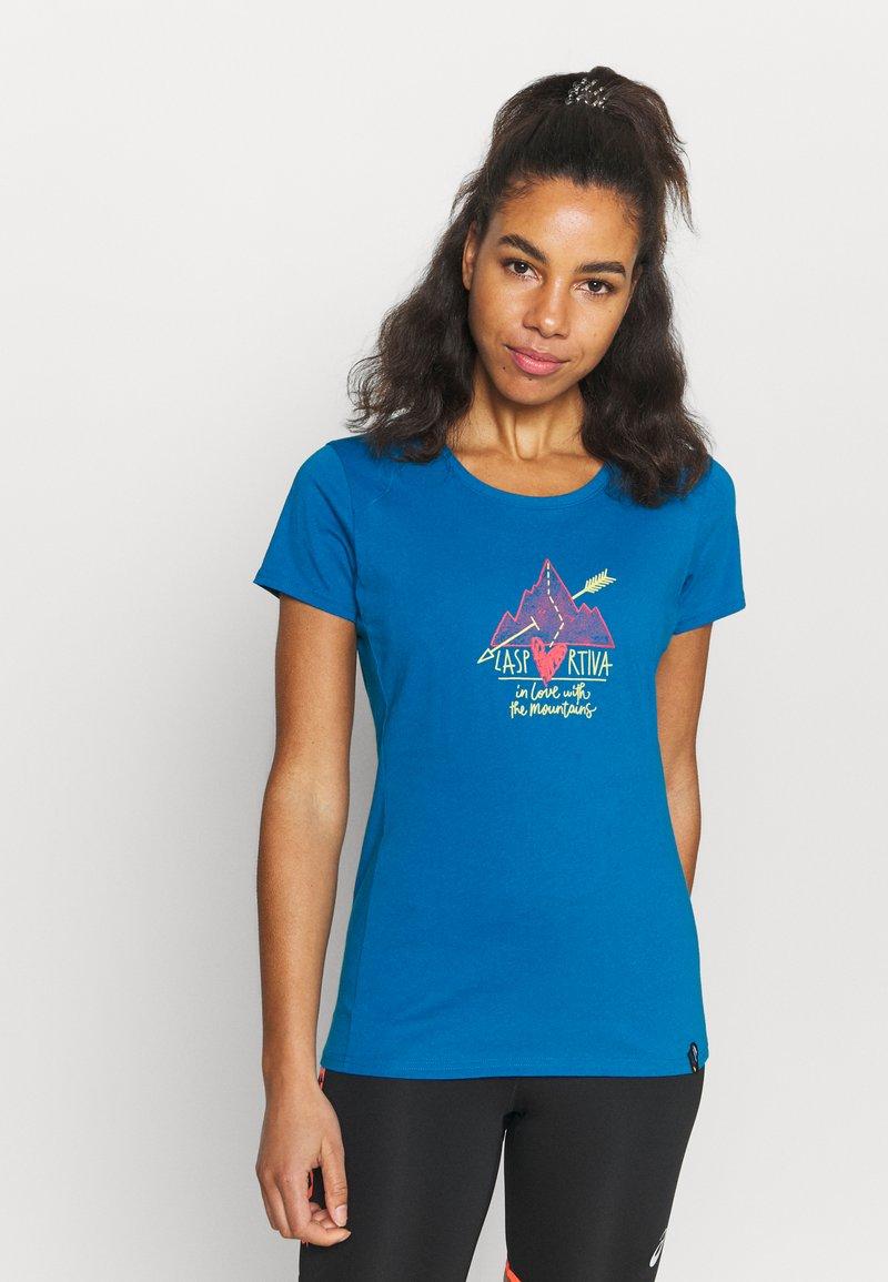 La Sportiva - ALAKAY  - Print T-shirt - neptune