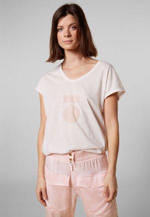 T-shirt z nadrukiem - white sand