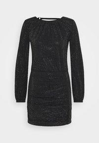 Diesel - D-RENEE-BLING-V2 DRESS - Jersey dress - black - 3