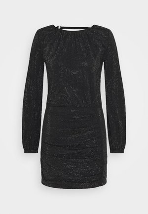 D-RENEE-BLING-V2 DRESS - Jersey dress - black