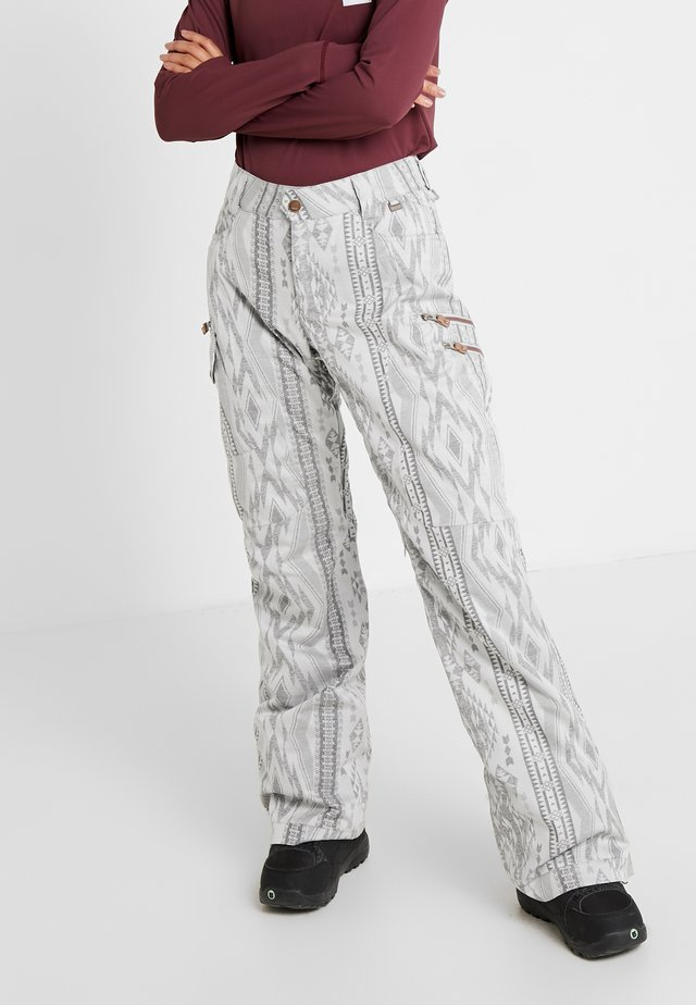 SNOW CULTURE PANT - Talvihousut - aztec glacier grey