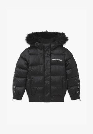 SHADOW  HOOD - Winter jacket - black