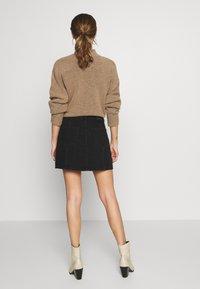 American Eagle - A-line skirt - black - 2