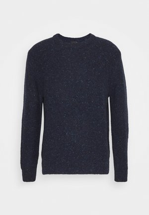 CREW NECK - Strickpullover - dark blue