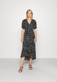 Diane von Furstenberg - ORLA DRESS - Maxi dress - black - 0