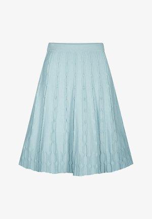 A-line skirt - petrolfarben