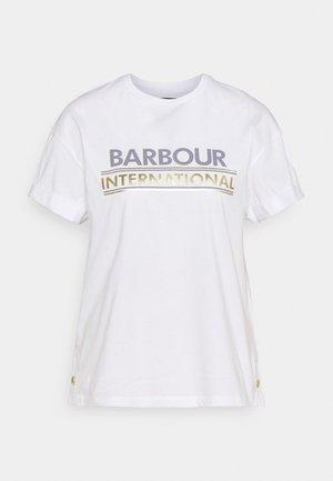 SITKA TEE - Print T-shirt - white