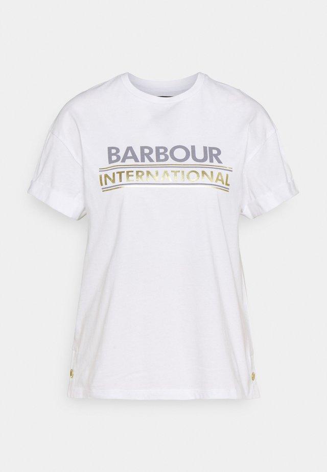 SITKA TEE - T-shirt print - white