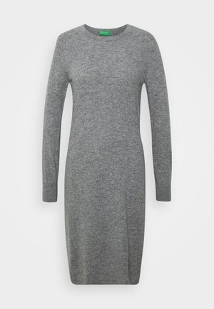 DRESS - Shift dress - grey