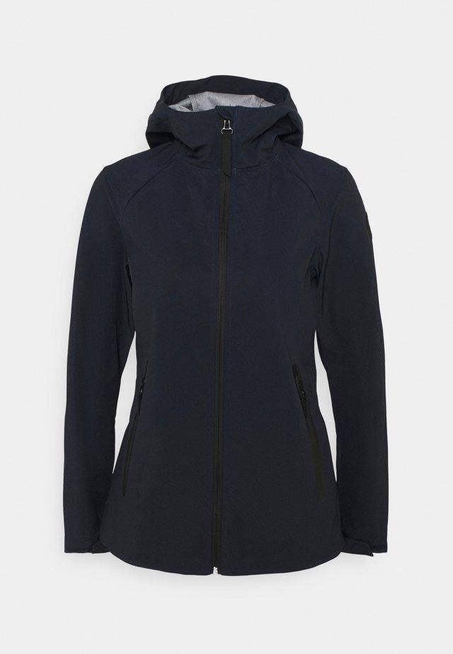 AVERSA - Soft shell jacket - dark blue
