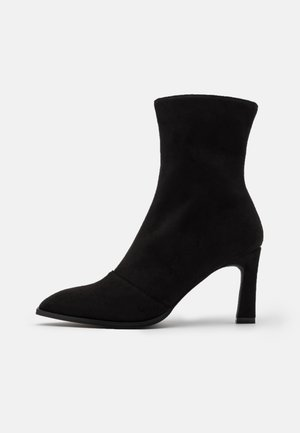 LOOK HEELED BOOTS - Stiefelette - black
