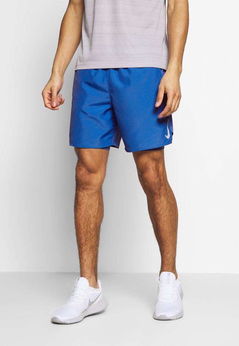 Nike Performance - SHORT - kurze Sporthose - pacific blue/reflective silver
