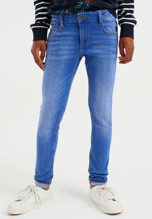RELAXED FIT - Slim fit jeans - light blue