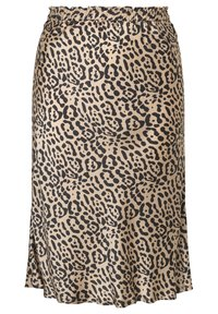 INAN ISIK - A-line skirt - beige - 1