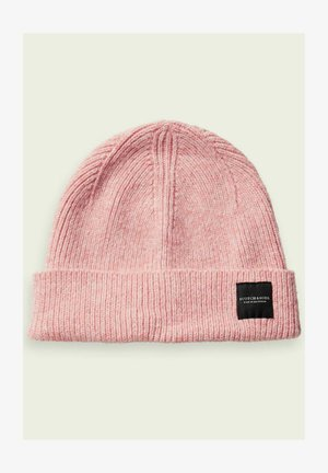 Beanie - sunset pink melange