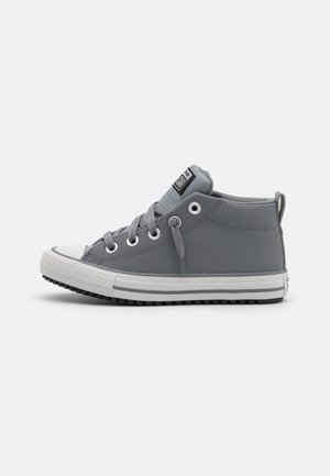 CHUCK TAYLOR ALL STAR STREET MID UNISEX - High-top trainers - mason/black/pale putty