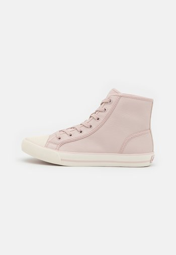 Sneakers alte - soft pink