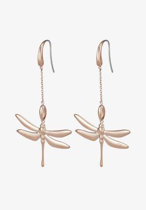 Earrings - roségold-coloured