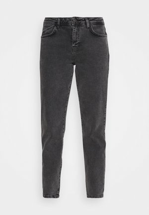 NMOLIVIA  - Jeans slim fit - dark grey denim