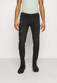 Alessandro Zavetti - Jeans slim fit - black - 0
