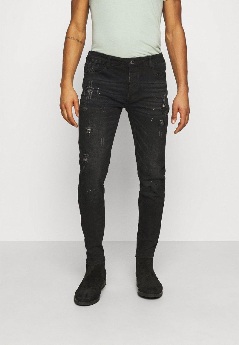 Alessandro Zavetti - Jeans slim fit - black