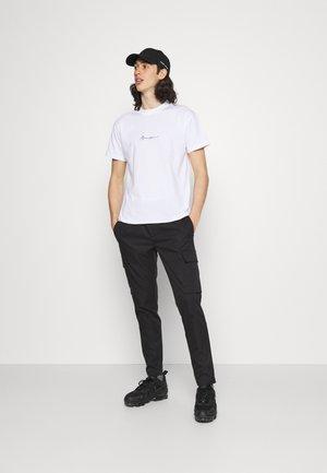 ESSENTIAL REGULAR 2 PACK UNISEX - T-shirt basique - black/white