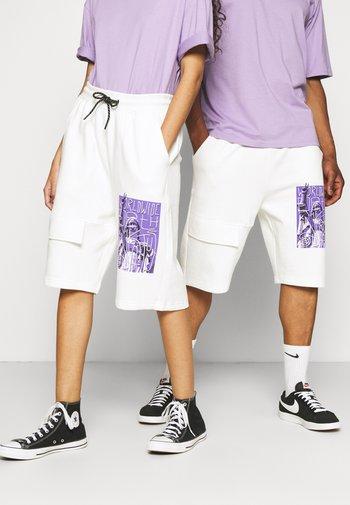UNISEX  - Shorts - whisper white