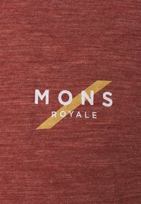 Mons Royale - VAPOUR - Triko spotiskem - navy/chocolate - 2