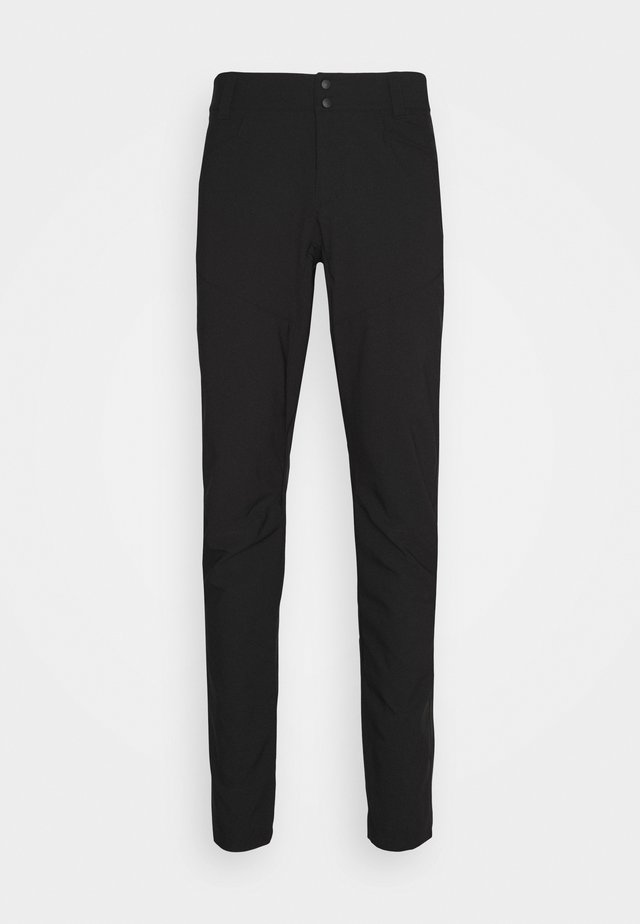 BIKE PANTS - Trousers - black