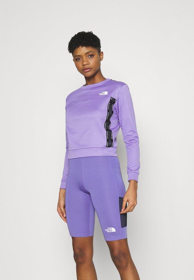 Mikina - pop purple