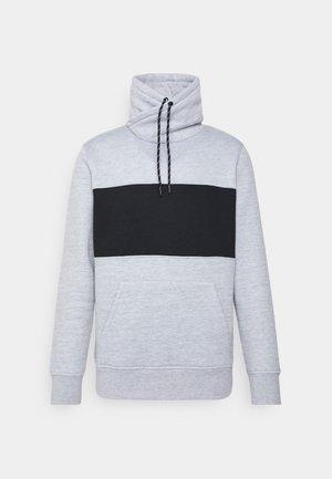 TORRES - Sweatshirt - light grey marl/ jet black