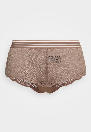 ESSENTIAL BOYSHORT - Pants - deep taupe