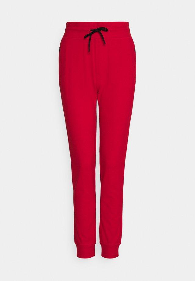 TAFFY - Teplákové kalhoty - red