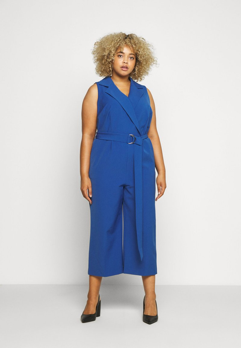 Vince Camuto Plus - BELTED - Overall / Jumpsuit /Buksedragter - blue