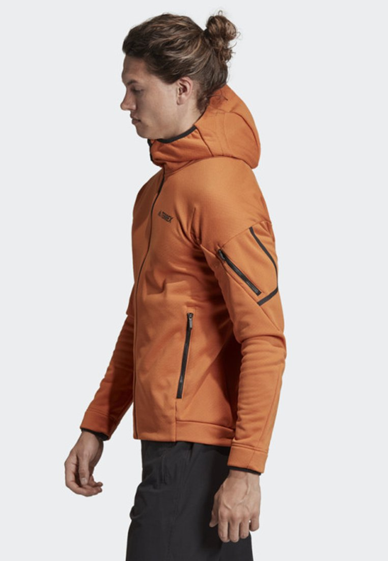 adidas Performance Fleecejacke »Climaheat Hooded Fleece