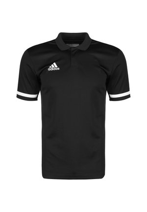 TEAM 19 POLOSHIRT HERREN - Club wear - black / white
