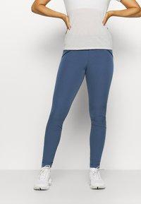 Norrøna - FALKETIND FLEX1 SLIM PANTS - Pantalon classique - dark blue - 0