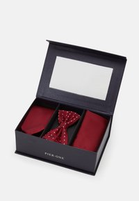 Pier One - SET - Pocket square - bordeaux - 4