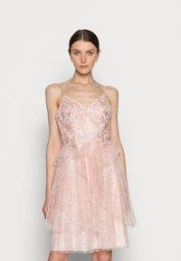 Luxuar Fashion - Cocktail dress / Party dress - mauve - 0