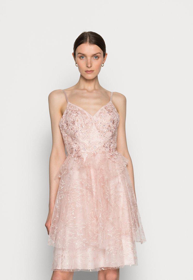 Luxuar Fashion - Cocktail dress / Party dress - mauve