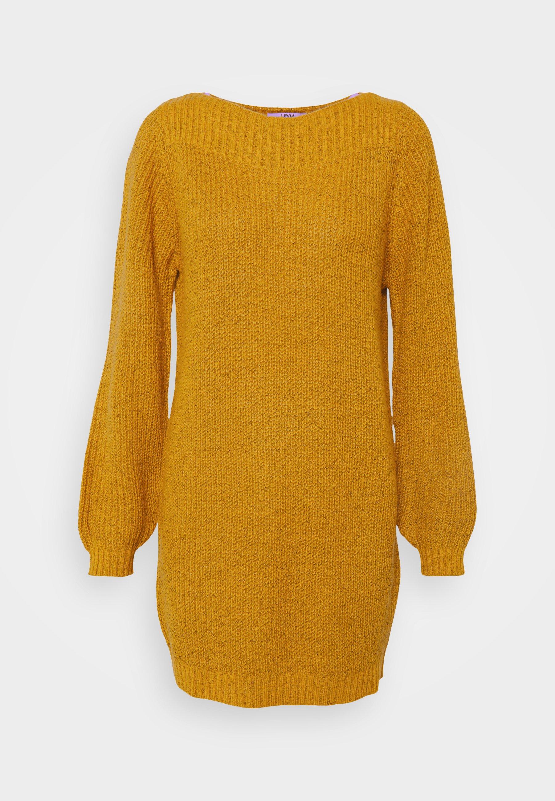 Mujer JDYWHITNEY MEGAN BOAT DRESS - Vestido de punto